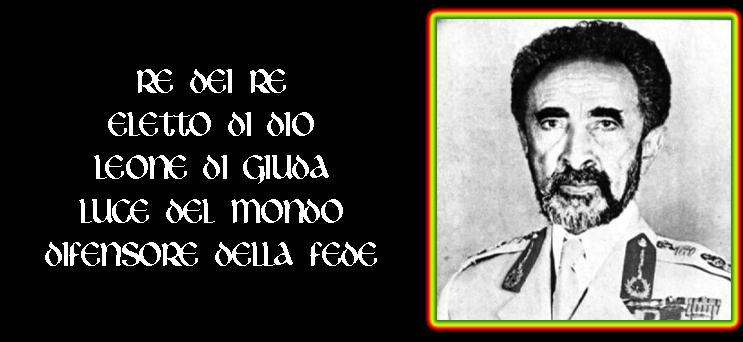 Selassie I e la fede