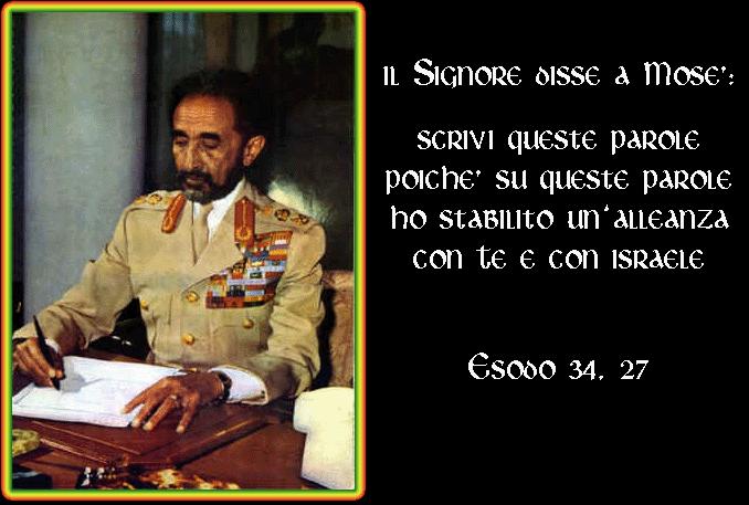 Selassie e la Bibbia