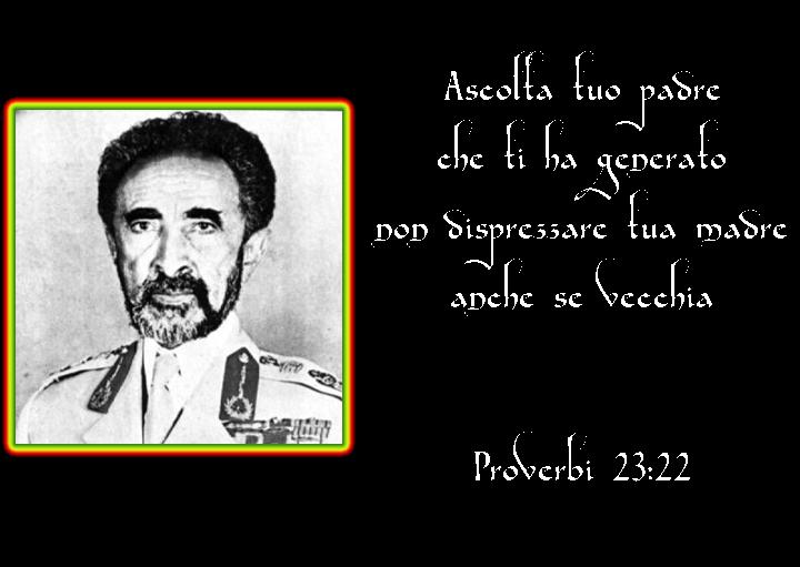 Volto di Selassie